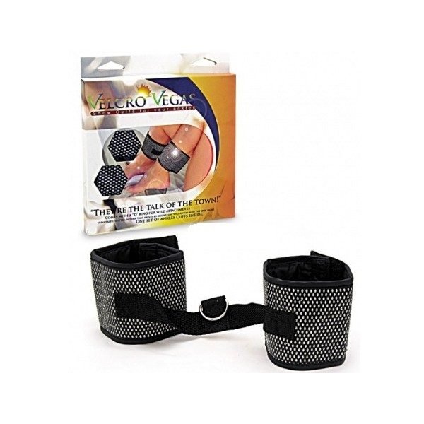 Ankle Cuffs Diamond Pattern