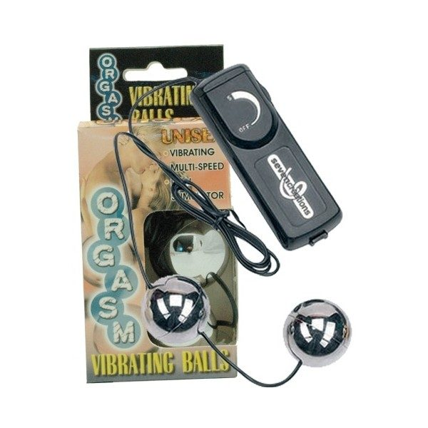 Orgasm Vibrating Duo Balls (Silver)