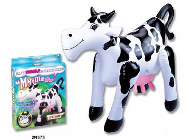 INFLATABLE COW 1