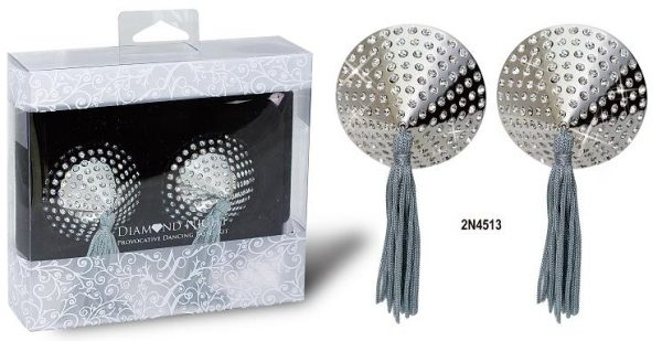 DIAMOND NIGHT TASSELS WITH DIAMOND CYRSTALS