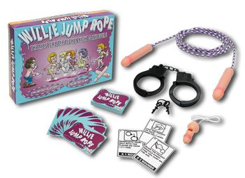 WILLIE JUMP ROPE HEN NIGHT GAME BOXED