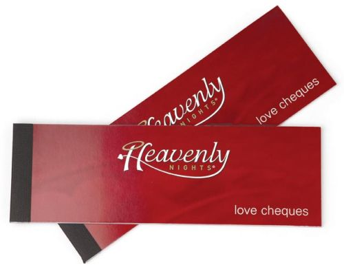 VOUCHERS HEAVENLY NIGHTS LOVE CHEQUES ** price reduced **