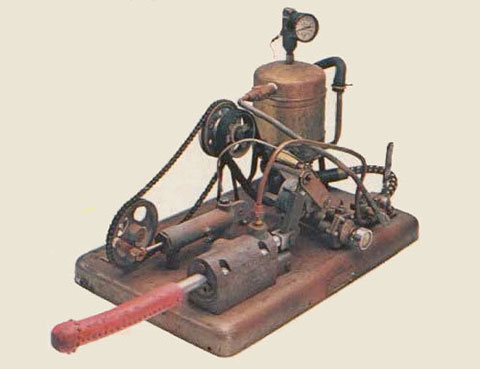 Steam powered 1800's Vibrator