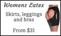 buy womens latex clothing online
